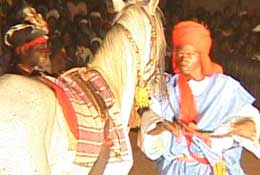 spectacle equestre burkina